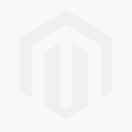 OFFSHOULDER LONG DRESS WITH BUTTONS IN WHITE COLOR WITH BLUE FLOWERS  (VISCOSE)